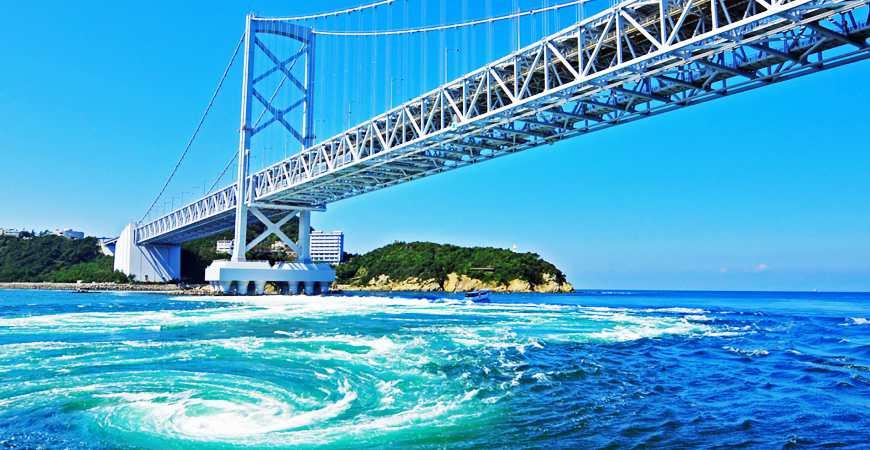 鳴門漩渦與大鳴門橋