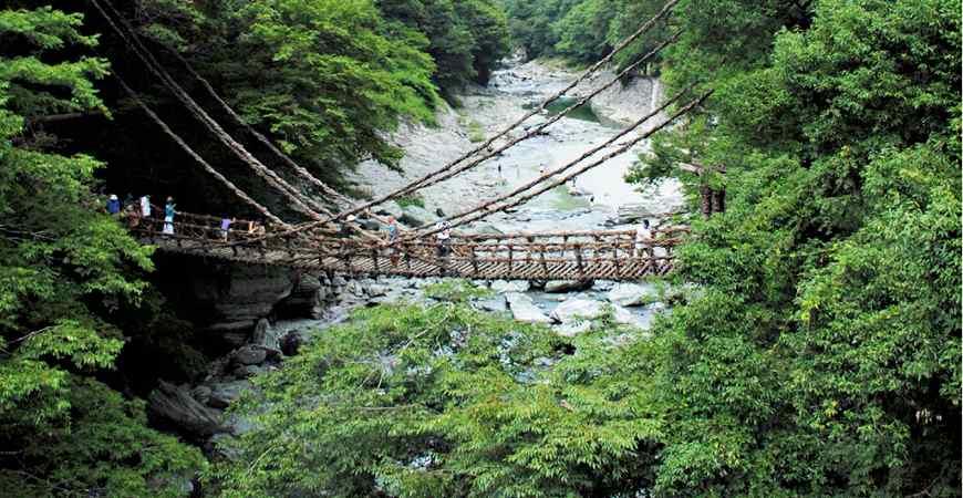 祖谷的蔓橋