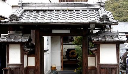 日本高知縣鰻魚店老舖大正軒