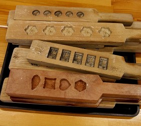 和三盆糖製作模板