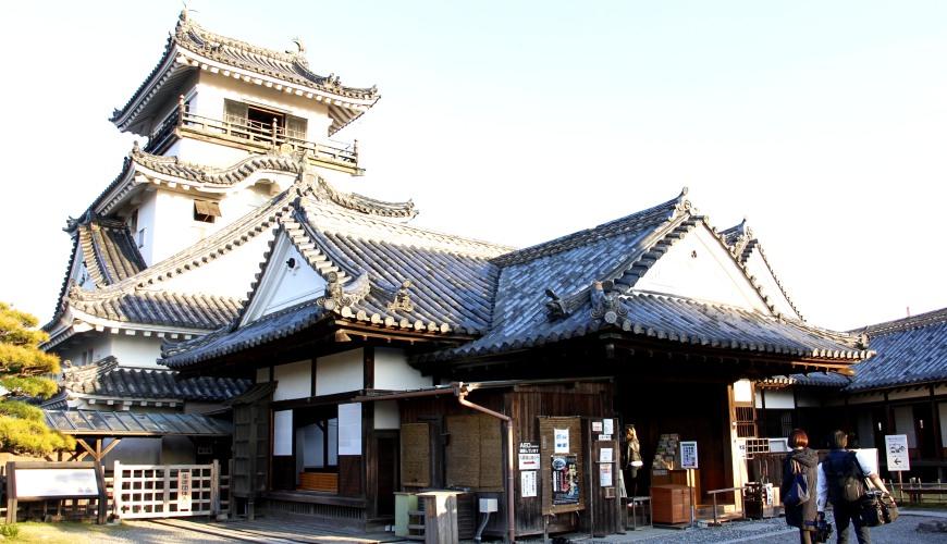 日本高知縣高知城