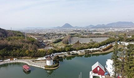 大江戶溫泉物語雷歐瑪度假村景色優美
