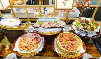大江戶溫泉物語雷歐瑪度假村自助餐