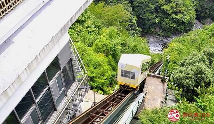 四國自由行搭乘觀光巴士「KOTOBUS IYA VALLEY」前往德島祖谷搭乘纜車
