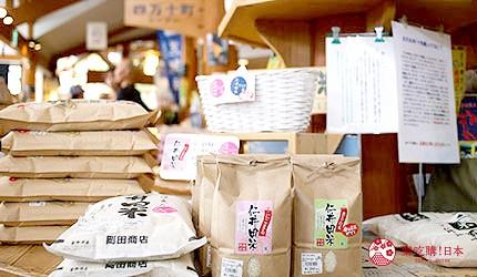 日本高知县四万十町名产仁井田米