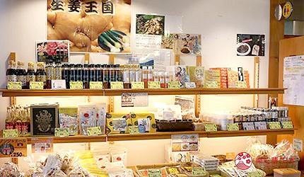 日本高知县四万十町名产生姜