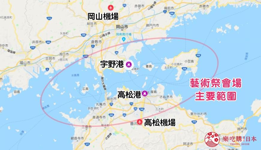 瀨戶內國際藝術祭瀨戶內藝術季瀬戸内setouchi2019舉辦日期地點交通四國自由行景點行程安排