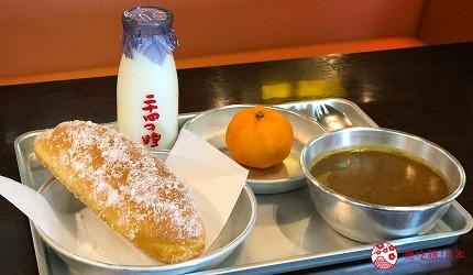 四國「小豆島」必去景點「二十四隻眼睛映畫村」裡「電影之庵」的「Café電影俱樂部」的「營養午餐套餐」