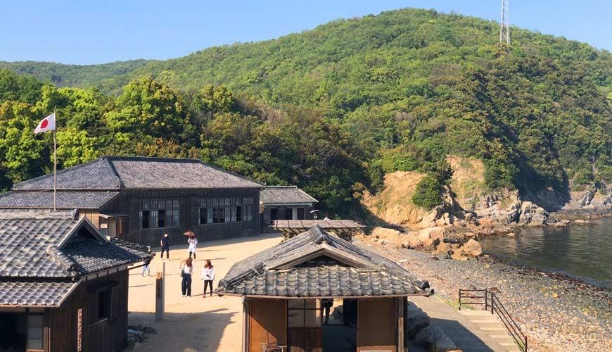 四国「小豆岛」必去景点「二十四只眼睛映画村」一景