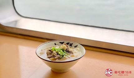 四國「小豆島」推薦觀光一日遊從神戶港搭乘「Jumbo Ferry」船上可享用烏龍麵