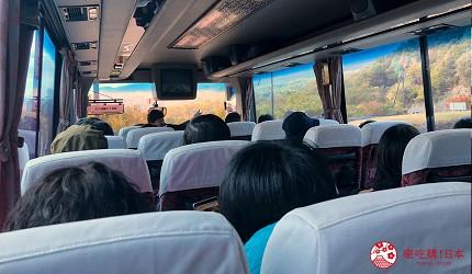 四國「小豆島」上的環島觀光巴士上的講解員