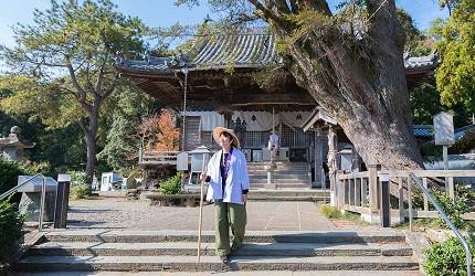 德島市官方觀光網站「Fun!Fun!TOKUSHIMA」的觀光示範行程「追尋自我!德島市內5所巡禮之旅」