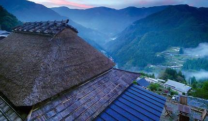 四国德岛「三好市祖谷」必去的景点推荐的「桃源郷 祖谷の山里」