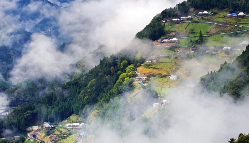 四国德岛「三好市祖谷」必去的景点推荐的天空之村落合集落