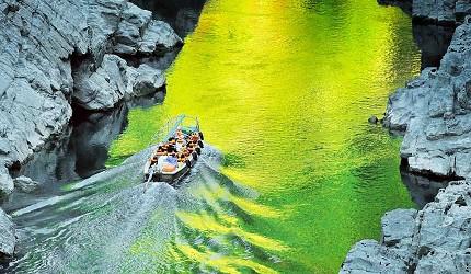 四国德岛「三好市祖谷」必去的景点推荐的大步危峡