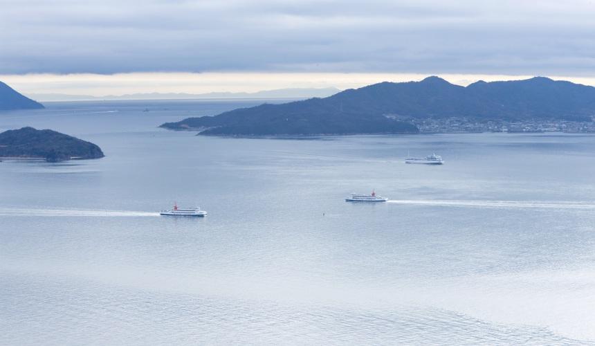 瀨戶內海景色
