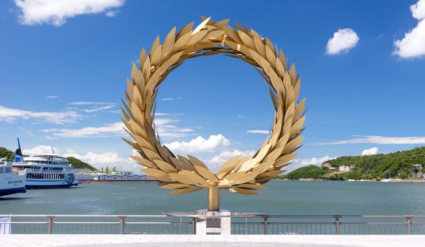 瀨戶內海國際藝術祭作品崔正化太陽的贈禮