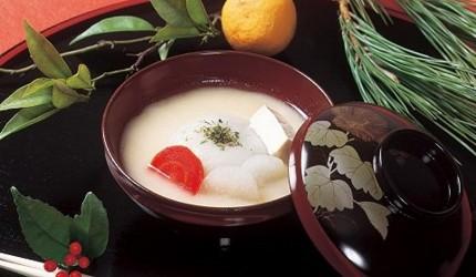 日本香川讚岐紅豆餡年糕湯雜煮