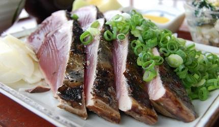 日本爱媛炙烤半熟鲣鱼生鱼片