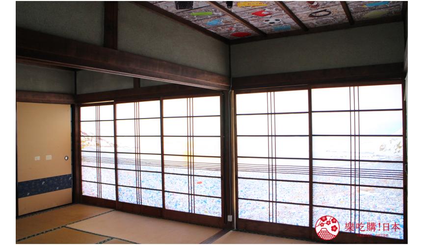 瀨戶內國際藝術祭2019小豆島作品鹿田義彥過去と現在の山にのぼり、銀未来の海を眺める