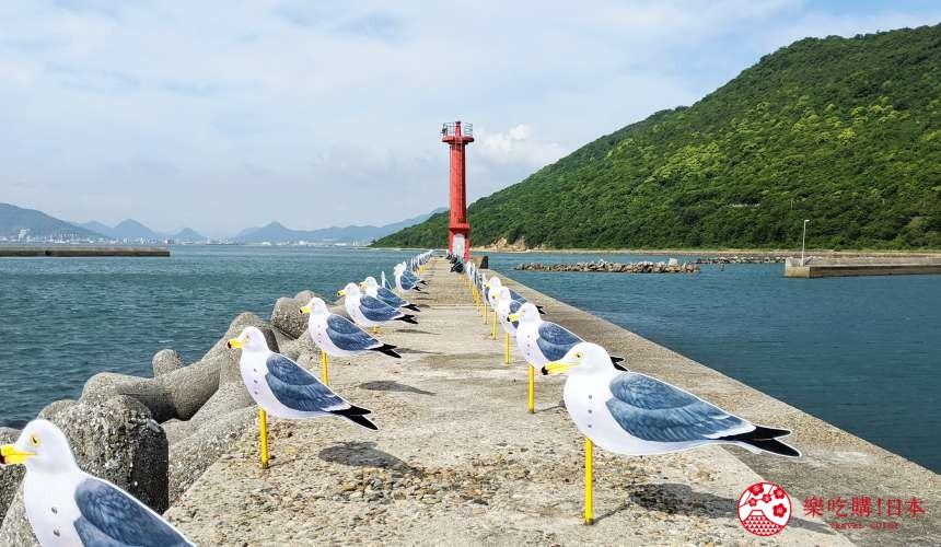 瀨戶內國際藝術祭2022推薦旅遊自由行必看作品女木島海鷗停車場
