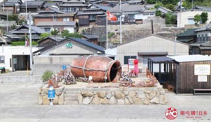 瀨戶內國際藝術祭2019男木島作品TEAM男気章魚壺タコツボル