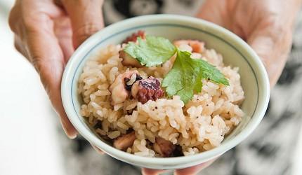 日本愛媛章魚飯