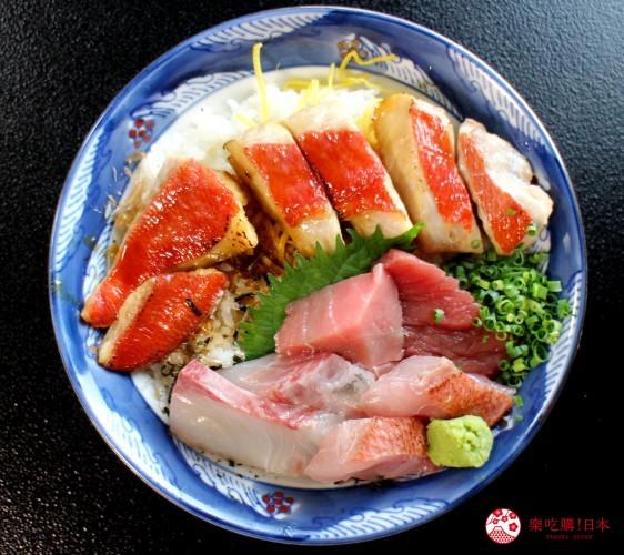 高知室戶美食必吃推薦金目鯛丼套餐