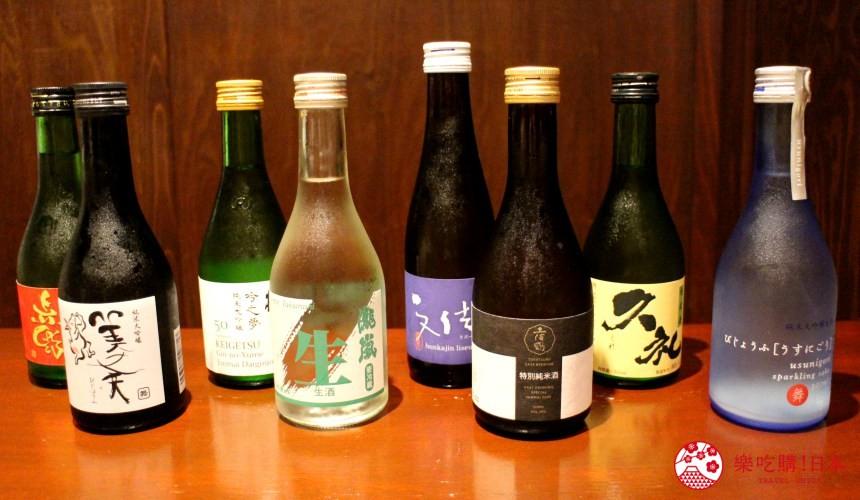 高知美食必吃推薦日本酒試喝評比