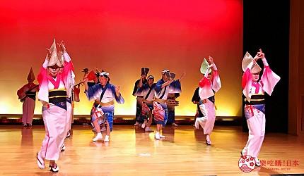 四国德岛自由行懒人法宝Novil Tokushima专车接送免找路轻松一日游的车队规划的行程中会去看的阿波舞表演
