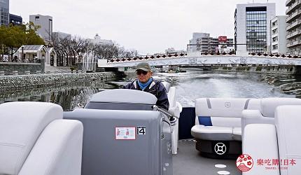 四国德岛自由行懒人法宝Novil Tokushima专车接送免找路轻松一日游的车队规划的行程中会去玩的葫芦岛观光船体验实拍