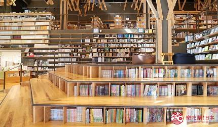 日本高知閨蜜旅行推薦推介美肌溫泉超舒服日版北川村莫內花園絕美花景打卡必到私房景點的隈研吾小鎮的雲之上圖書館的特色書架