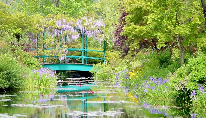 日本高知閨蜜旅行推薦推介美肌溫泉超舒服日版莫內花園絕美花景打卡必到私房景點的北川村モネの庭的水之庭遠望橋