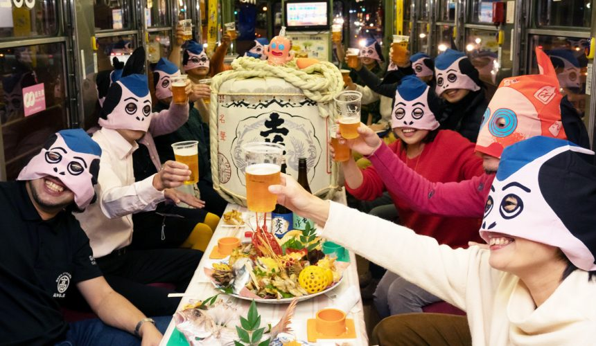 日本自由行夏天旅行必去推薦推介最好玩的夏日祭典四國高知夜來祭土佐宴客祭熱舞不停high翻天的宴客實況
